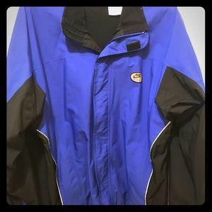 Nike zip up lined jacket